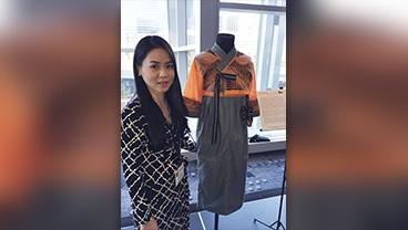 Assistant Professor Saemee Lyu with her winning design