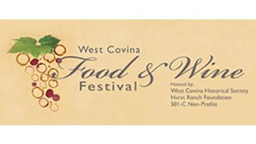 West Covina Food & Wine Festival Logo