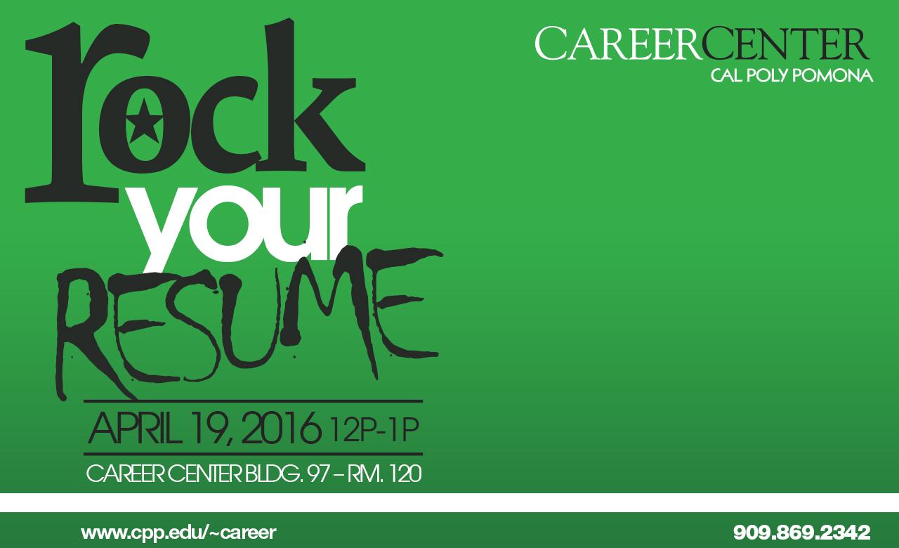 Rock Your Resume! Workshop
