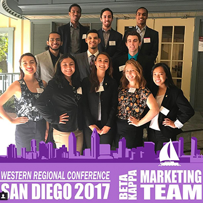 Pi Sigma Epsilon Marketing team