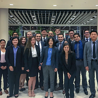 Student-Managed Investment Team Photo