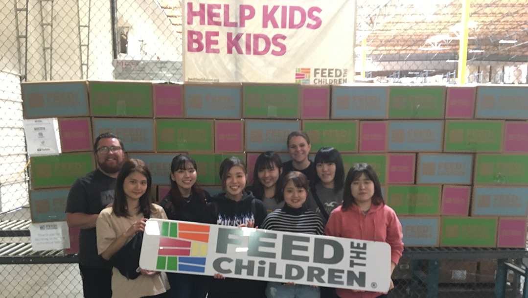 feed the children student group