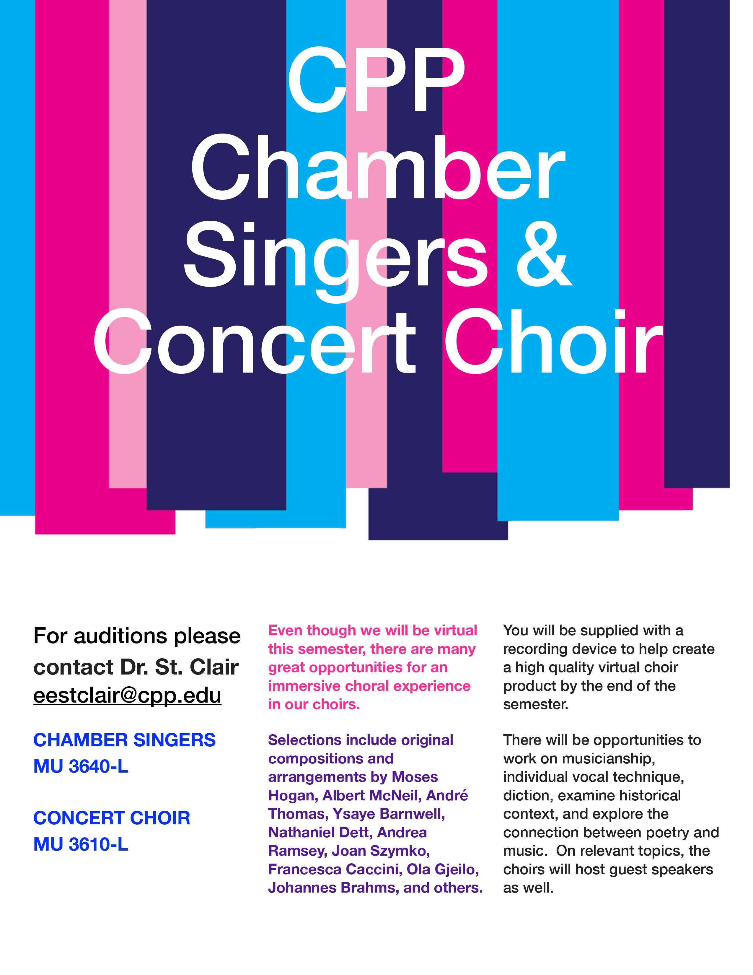Kellogg Chamber Singers