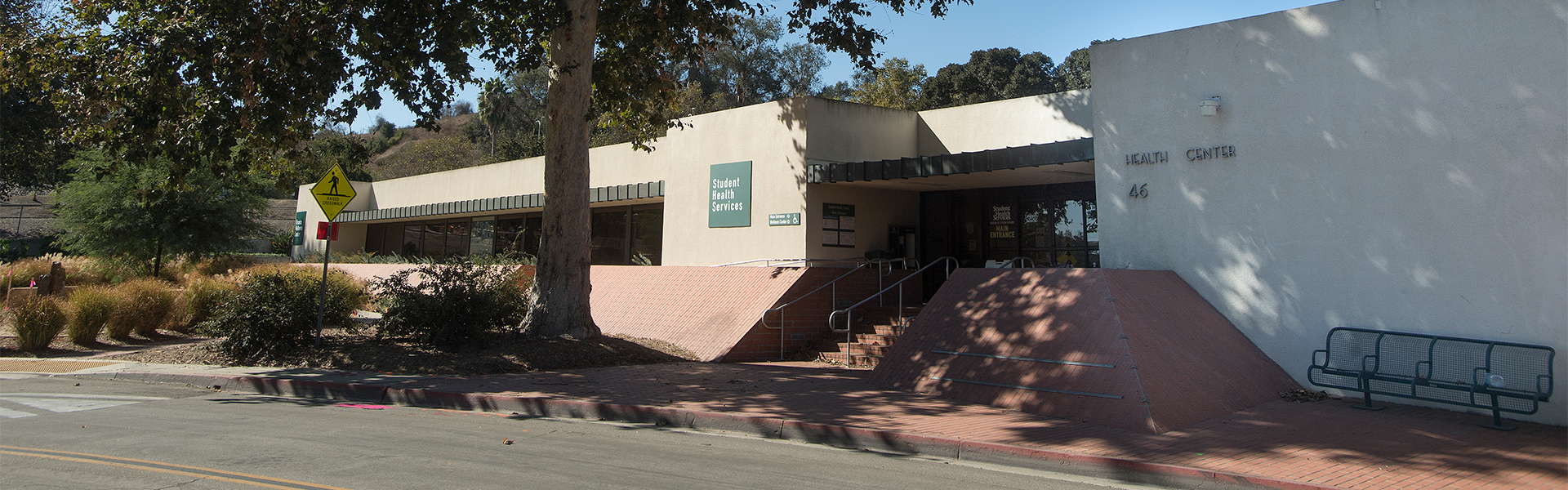Student Health Services Building at CPP