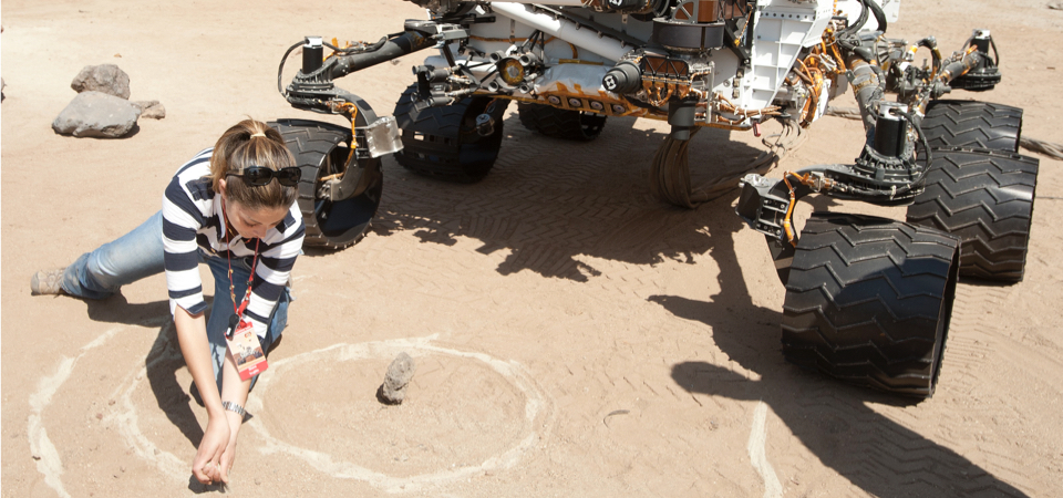 CPP Student at JPL with Curiosity Rover