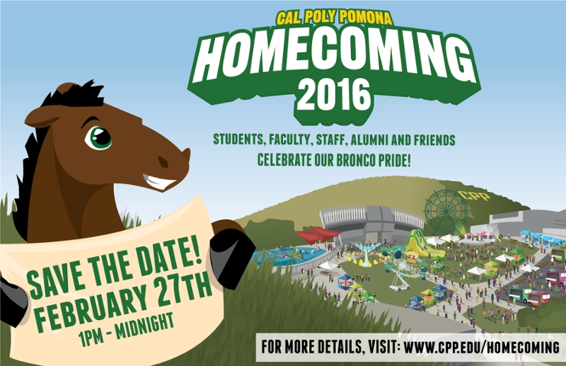 CPP Homecoming 2015 - Save the date