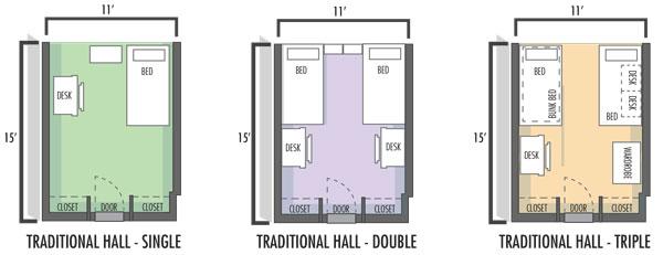 Hall Double Floorplan
