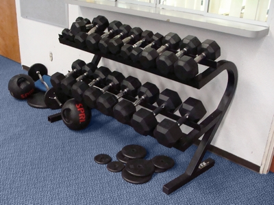 Provides Workout Equipment Elliptical Free Weights