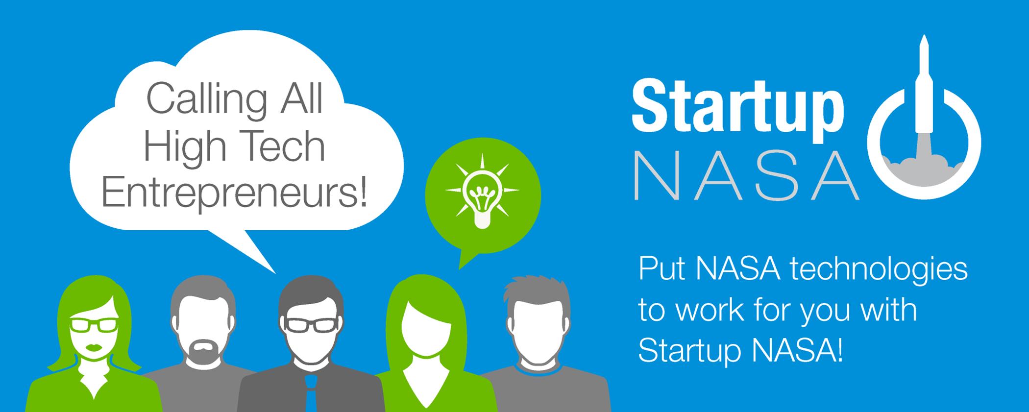 Startup NASA Banner