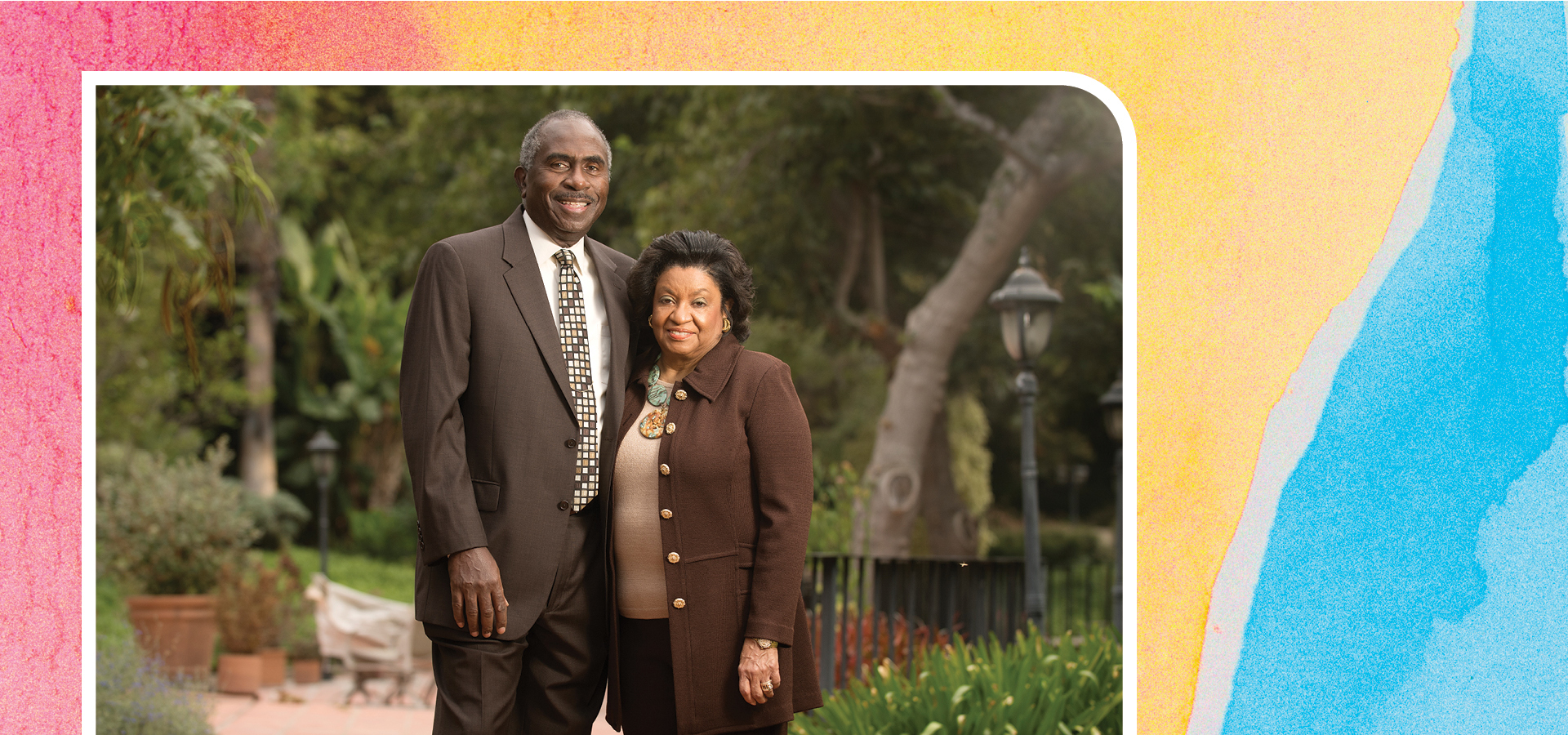 CPP President Soraya M. Coley with her husband, Ron Coley