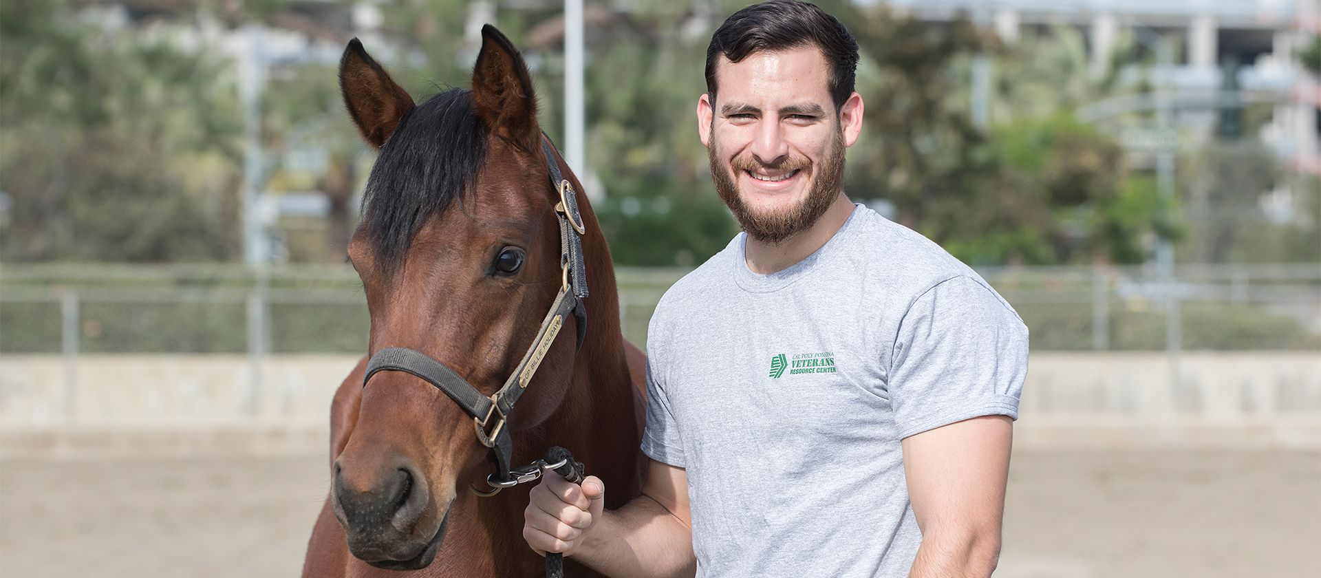 Jaime Orozco and a Horse