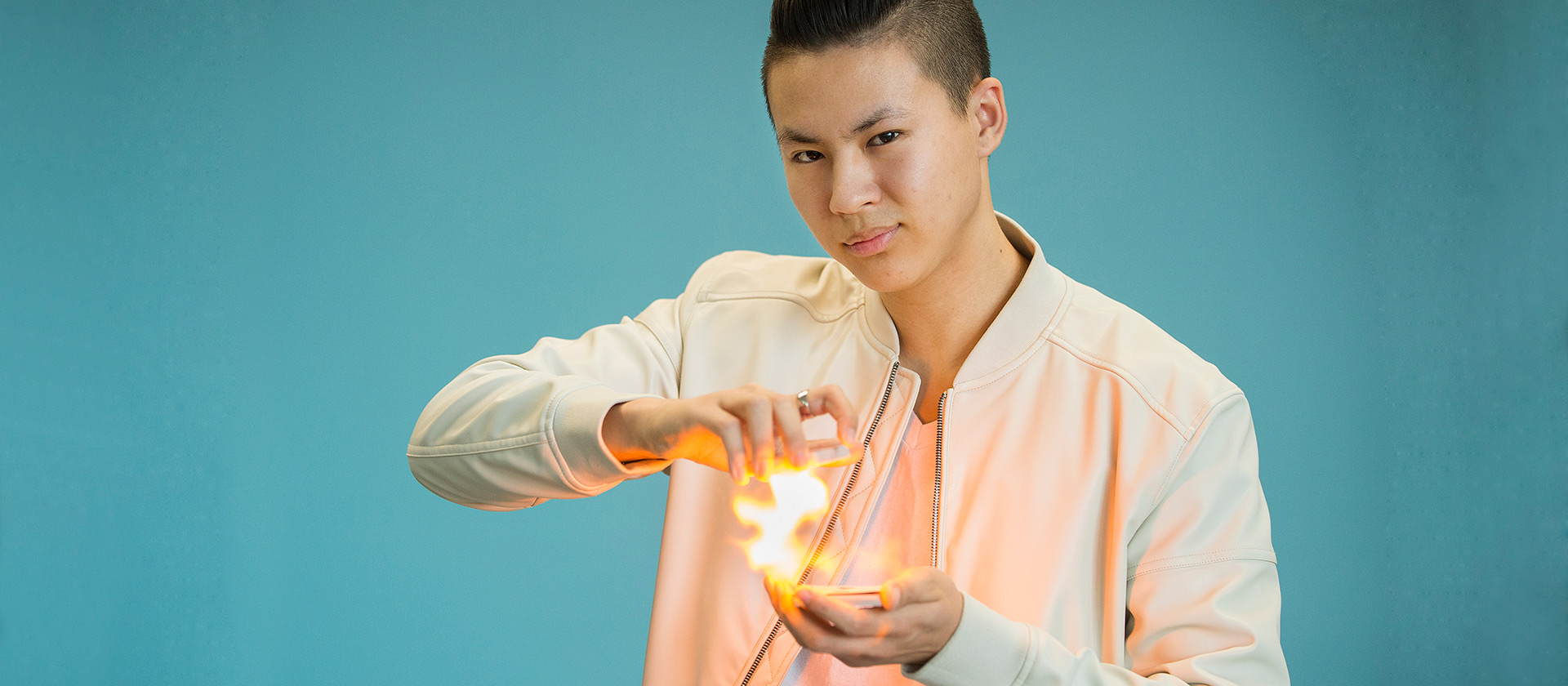 Kevin Li with Ball of Fire
