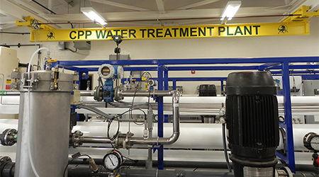 Water Treatment Plant at CPP.