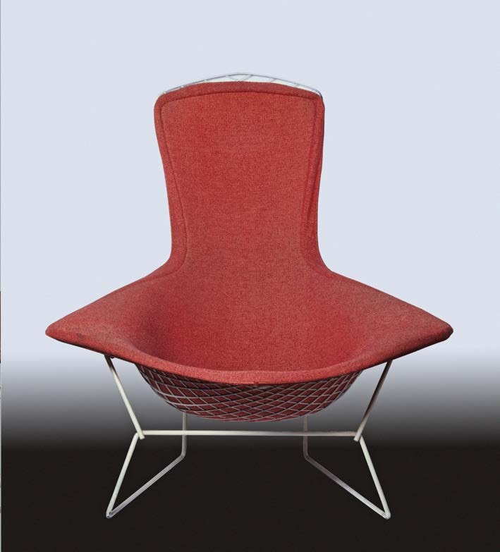 Bird High-back lounge chair piece.  navigate down for further details