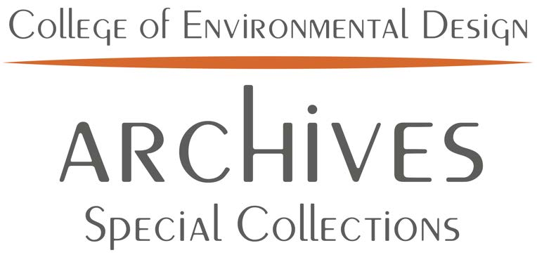 College of Environmental Design Archives Special Collections