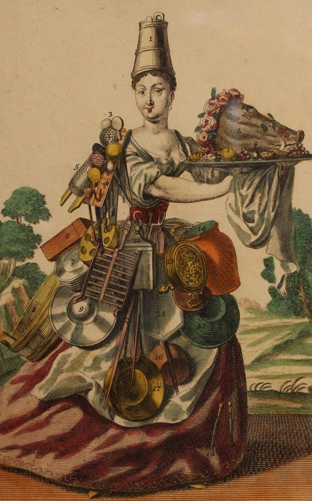 Une Cuisinière / The Cook piece.  navigate down for further details