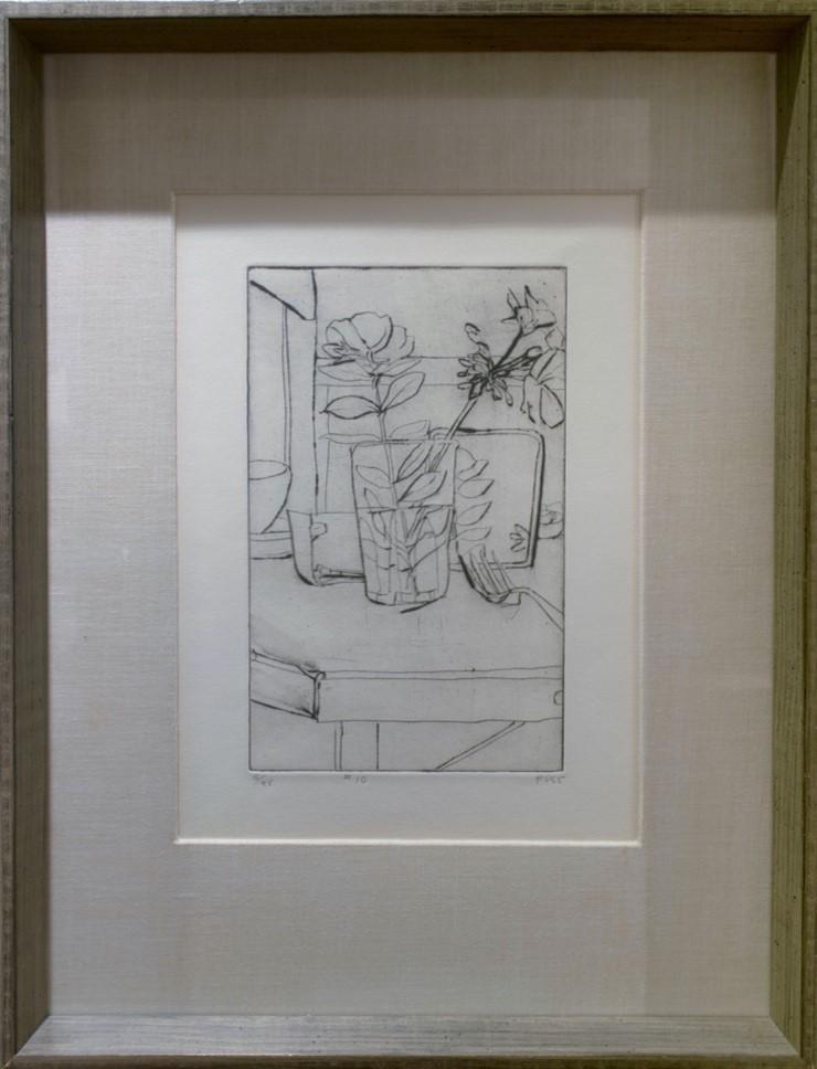Richard Diebenkorn's Still Life no.10 piece.  navigate down for further details