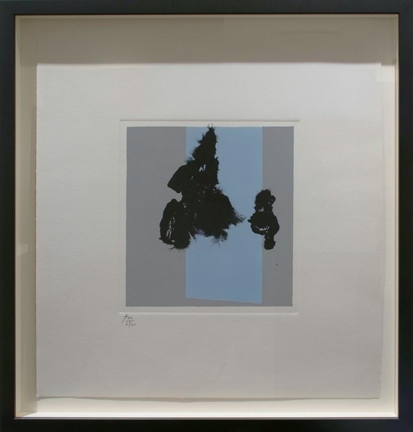 Robert Motherwell's Paris Suite I (Winter) piece.  navigate down for further details