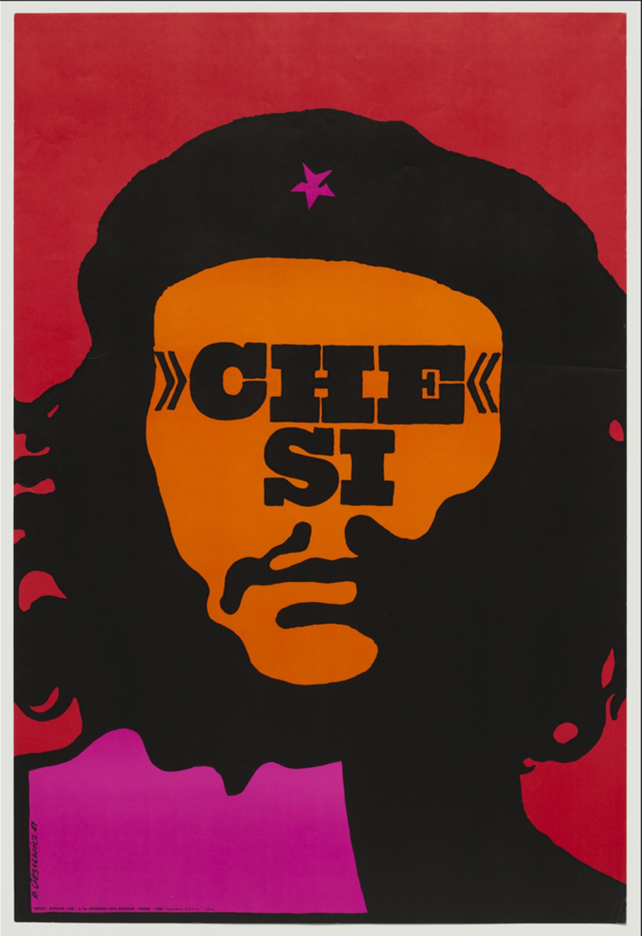 Image of Roman Cieslewicz's Che Si print.  navigate down for further details