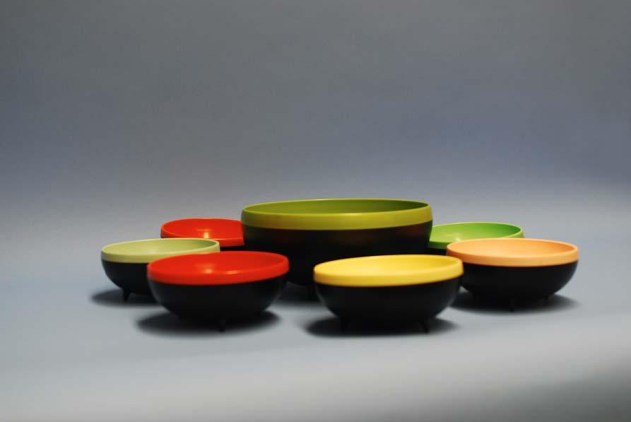 Therm-O-Bowl Salad Bowl Set.  navigate down for further details