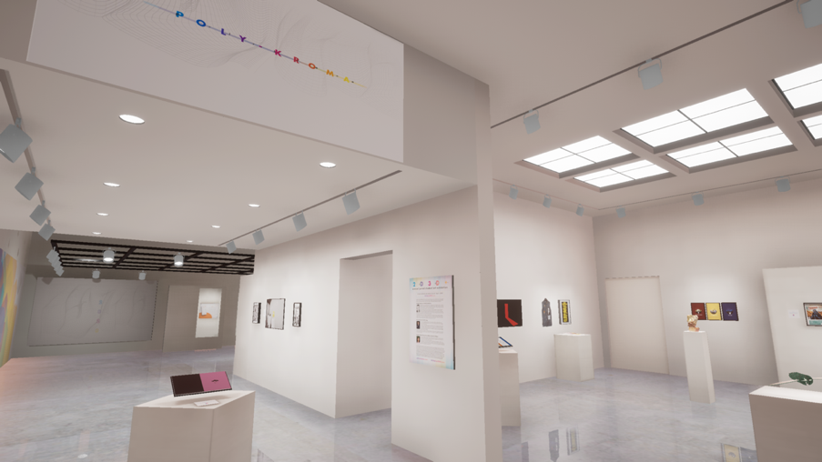 Visual Communication Design and Architecture exhibit.  navigate down for further details