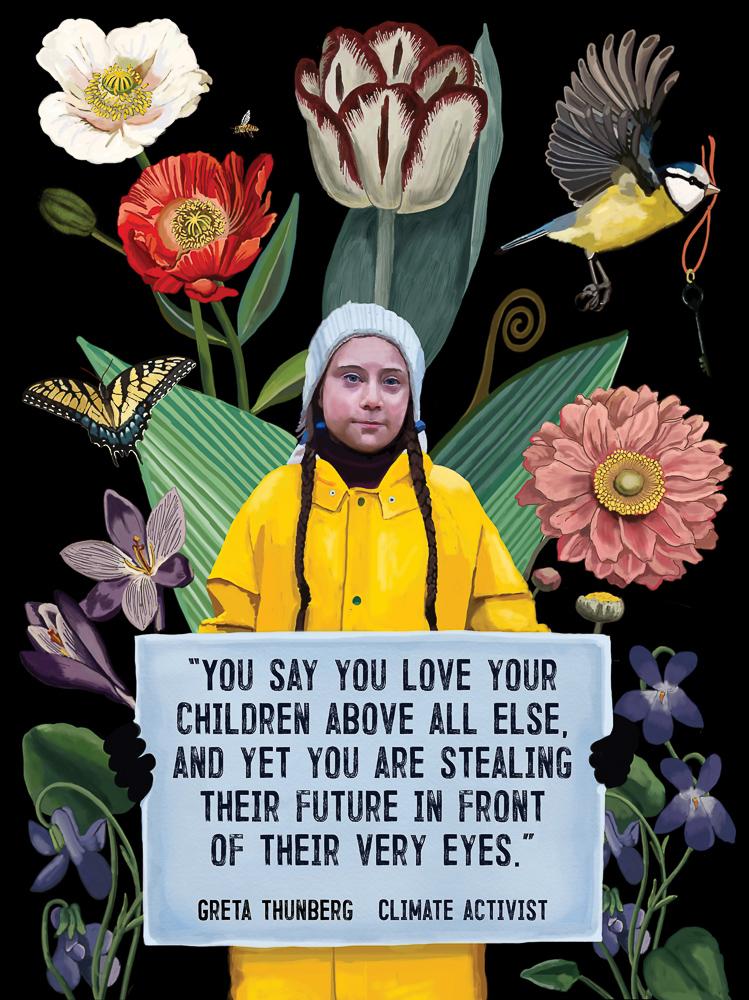 USA  Brooke Fischer    Greta Thunberg: Climate Activist, 2019