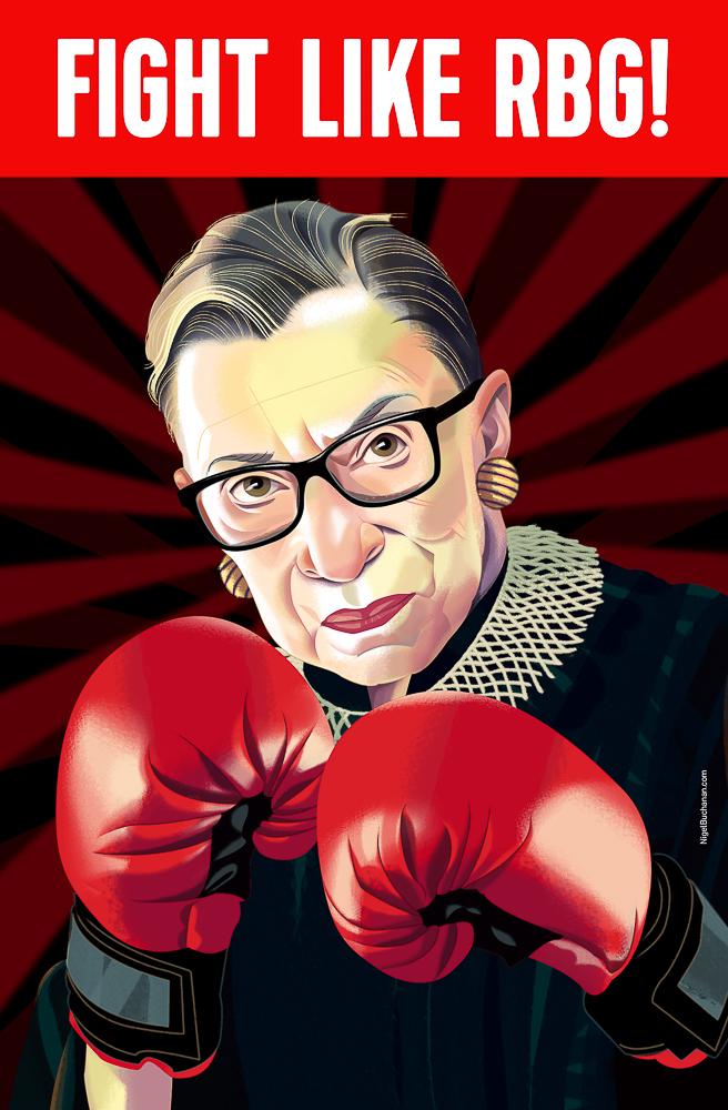 New Zealand  Nigel Buchanan    Fight Like RBG (Ruth Bader Ginsberg), 2016
