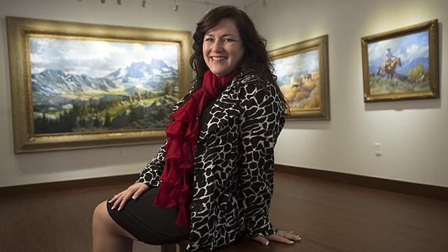 Portrait of Curator Michele Cairella Fillmore
