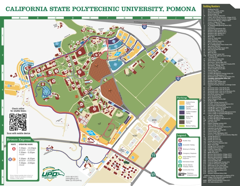 Cpp Campus Map Campus Map