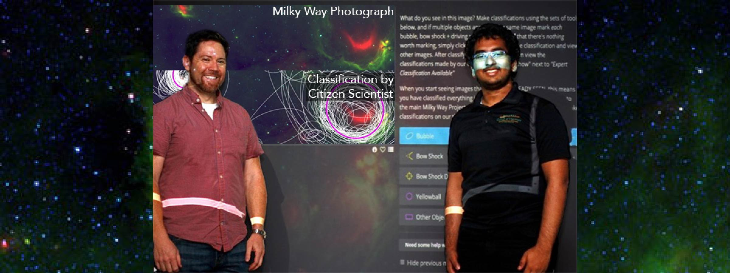 Become a Citizen Scientists and Help Decode the Milky Way Galaxy