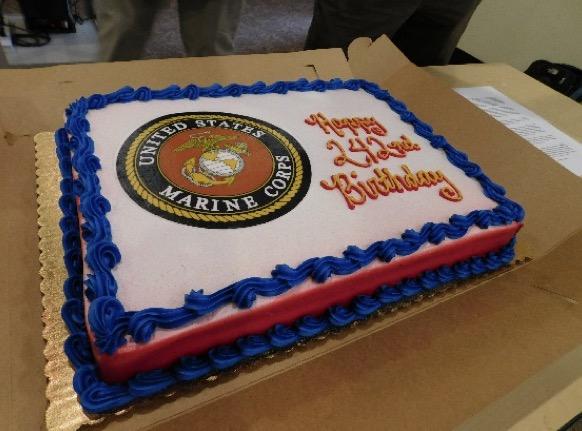 Phenomenal Cpp Veterans Celebrate The 242Nd U S Marine Corps Birthday Birthday Cards Printable Trancafe Filternl