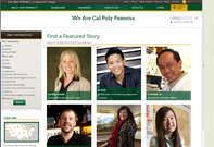 """""""We Are Cal Poly Pomona"""" website"""