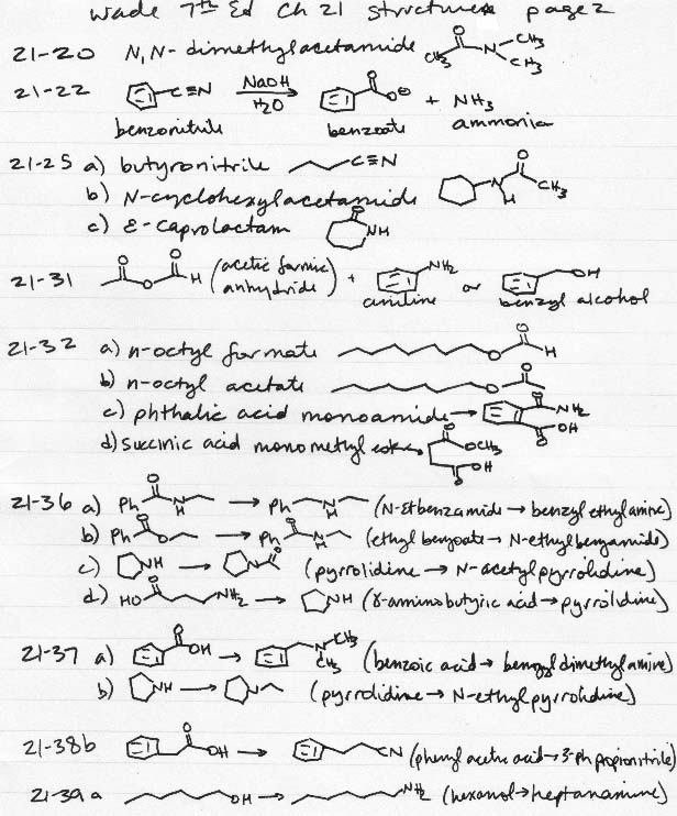 Chem 316 final exam sample.