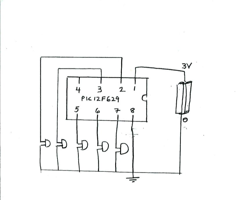 a schematic of the circuit is shown below