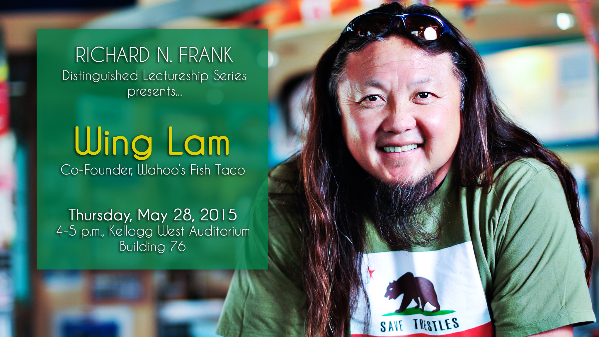 Richard N. Frank Distinguished Lectureship: Wing Lam
