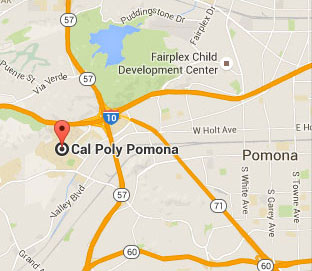 map of cal poly pomona