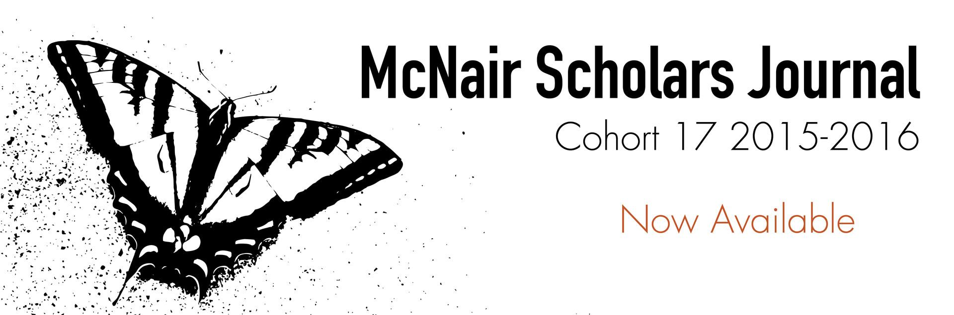 McNair Journal now available