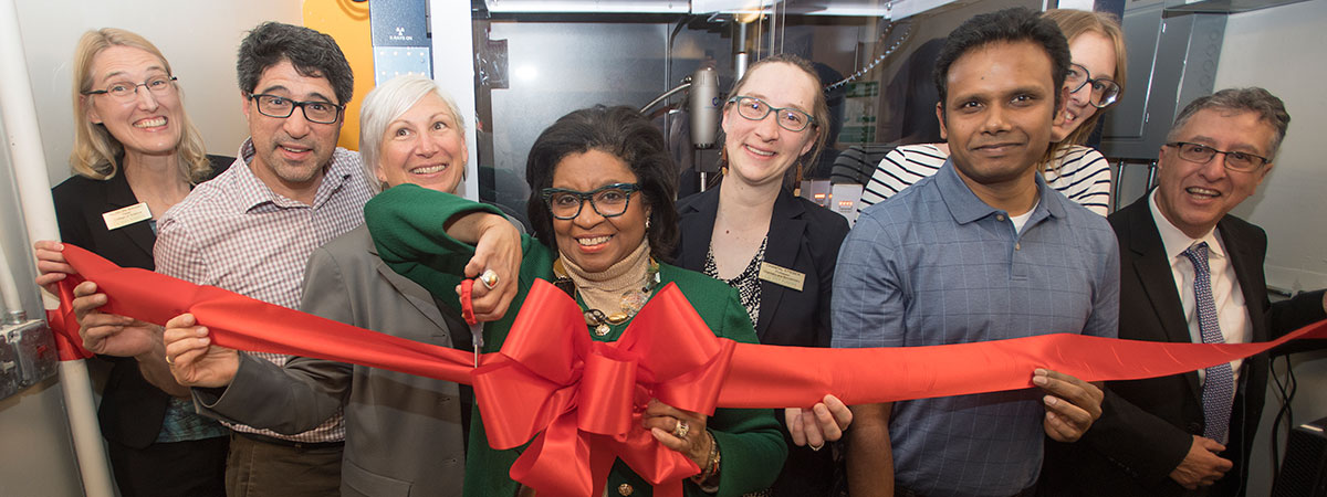 Crystallography Co-op Ribbon Cutting
