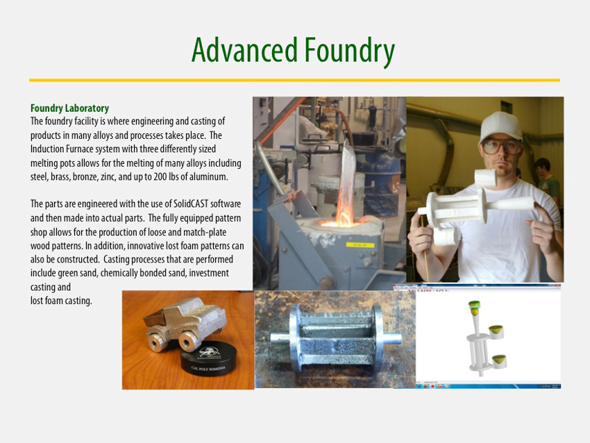 Advanced Foundry