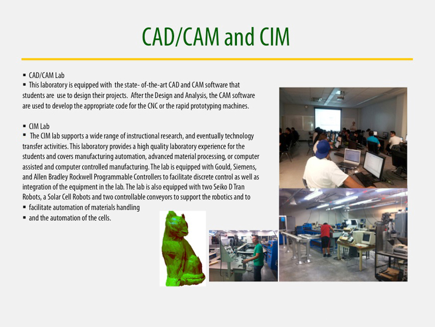 CAD/CAM and CIM