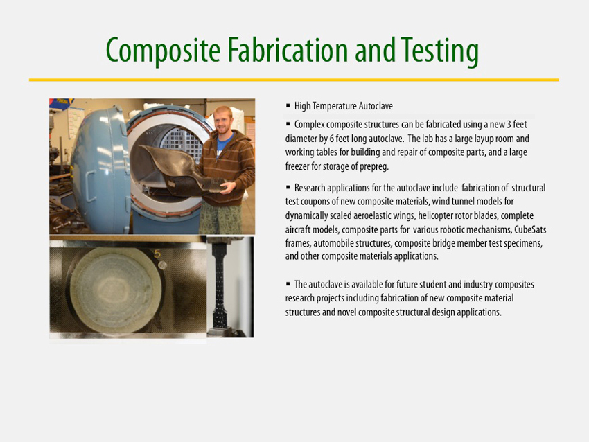 Composite Fabrication and Testing