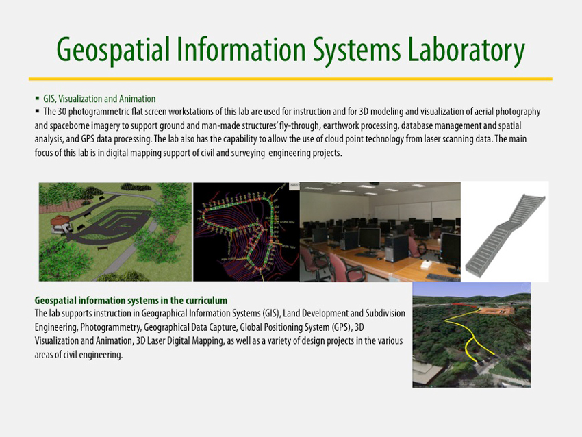 Geospatial Information Systems Laboratory