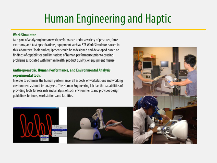 Human Engineering and Haptic