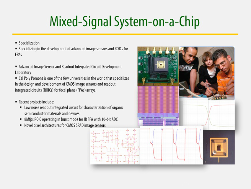 Mixed-Signal System-on-a-Chip