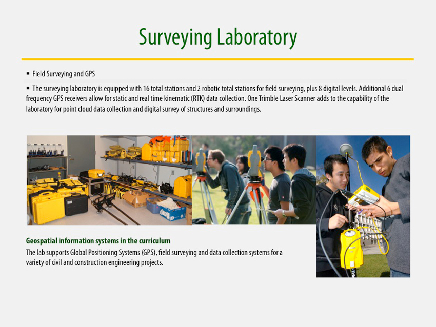 Surveying Laboratory