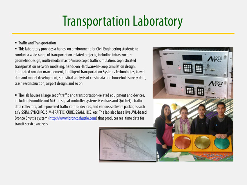 Transportation Laboratory