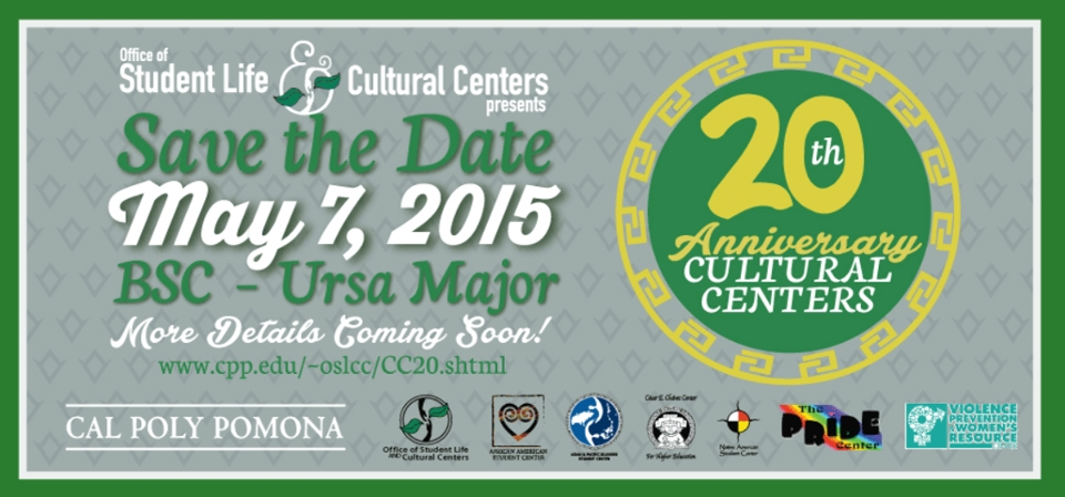 20th Anniversary for Cultural Centers