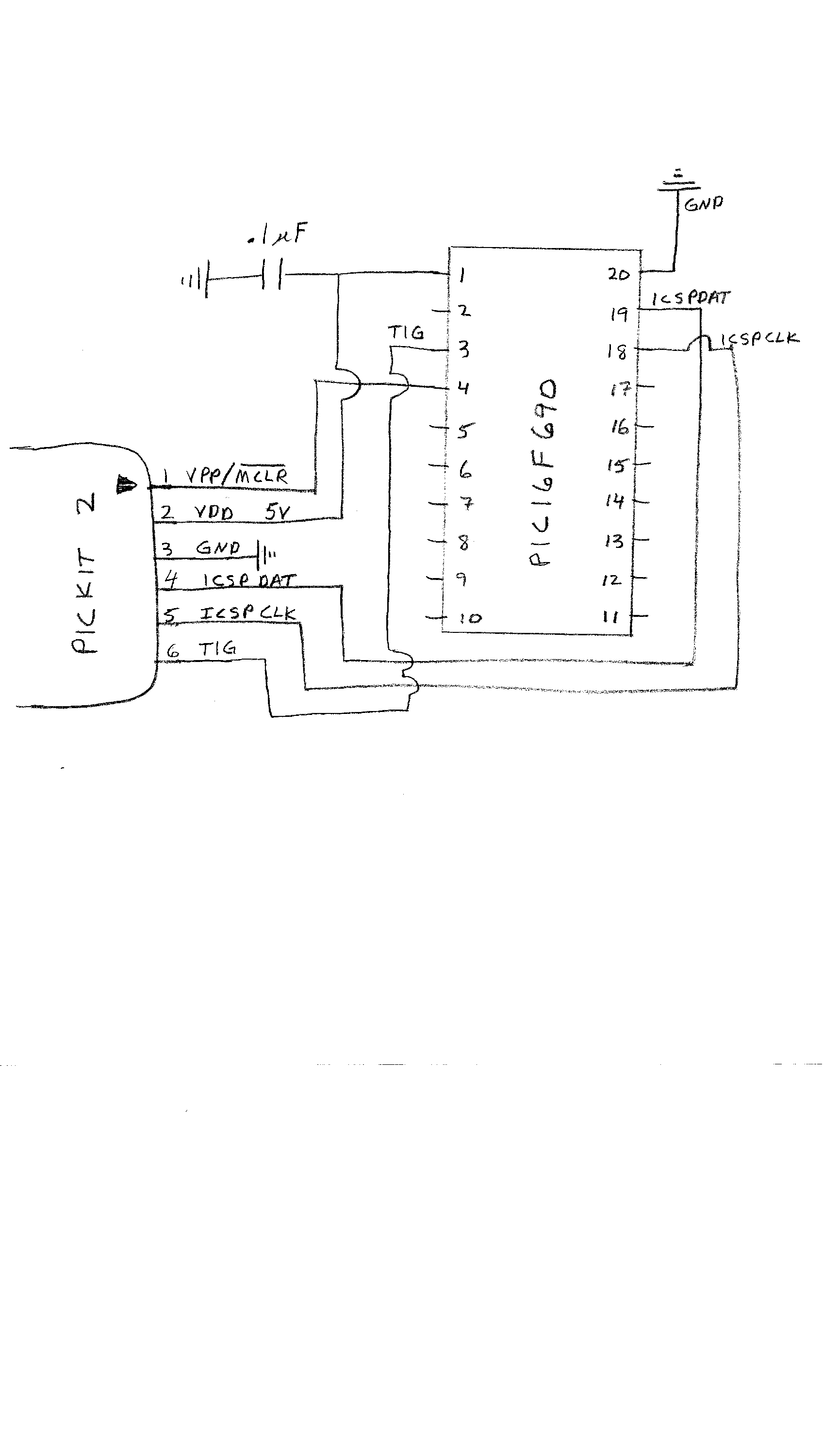 3 wire 2 circuit diagram first program the pic chip with the program test.asm ...